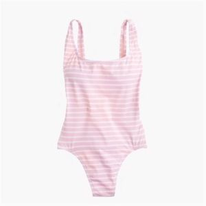 J. Crew Plunging Scoopback One Piece Swimsuit NWT